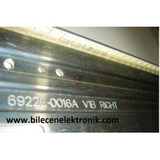 6922L-0016A V1B RIGHT , 42 V12 EDGE REV1.1 1 6920L-0001C , LC420EUE-SEF1 , LC420EUN-SEM1 , PHİLİPS , 42PFL4307K/12 , LED BAR